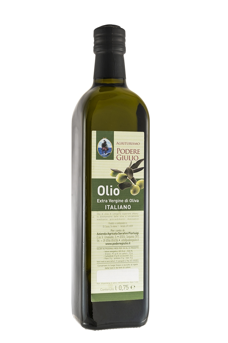 OLIO EXTRAVERGINE DI OLIVE 0,75 CL