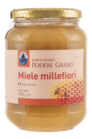 MIELE DI MILLEFIORI 1 Kg. Tozzetti- Vino- Finocchietto