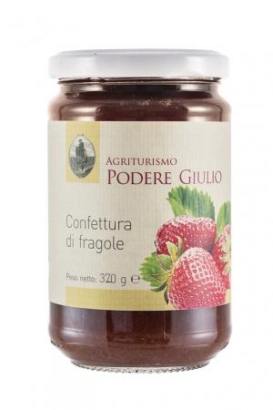 CONFETTURA DI FRAGOLE 320gr. Marmellata