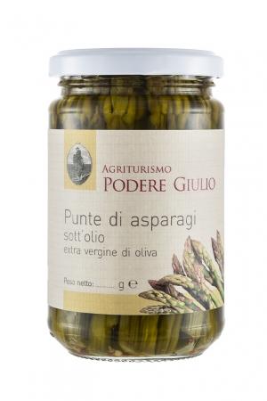 PUNTE ASPARAGI SOTT'OLIO Sottolio-Olio Extra Vergine d'Oliva-